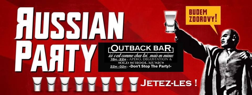 Visuel Russian Party @Outback