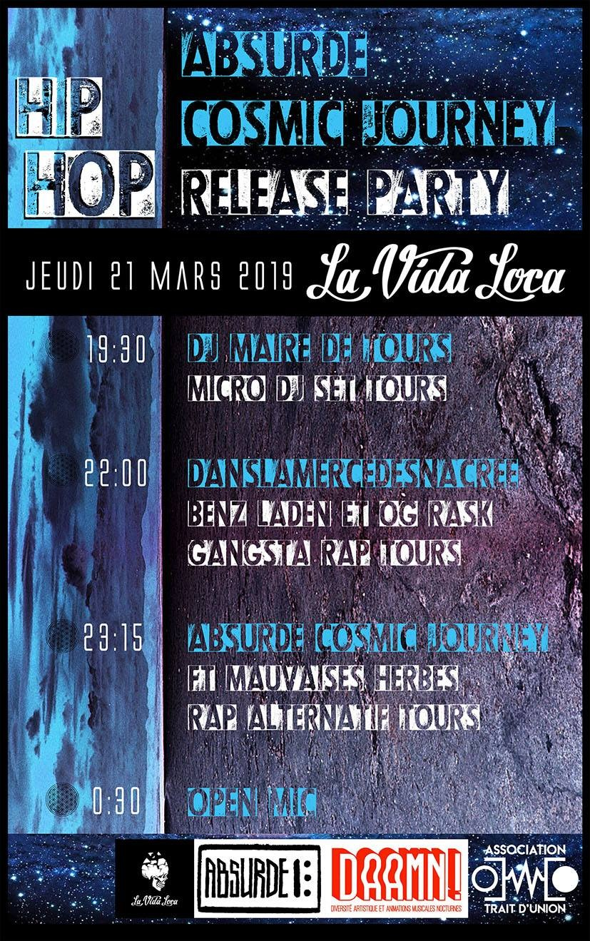 Musique Absurde Cosmic Journey Release Party + Guests